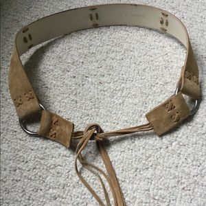 Accessories - Suede like belt